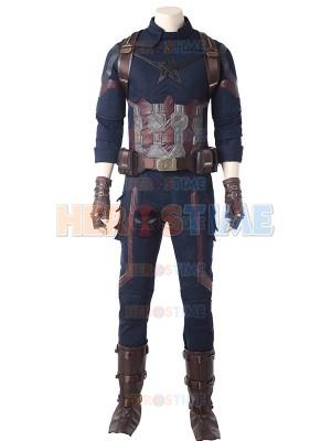 Traje de Capitán América de Avengers Infinity War Cosplay
